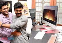 Mega Powerstar Ram Charan unveils Sound Cut trailer of Ranarangam