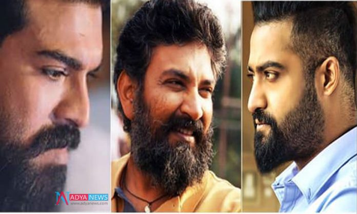 With RRR Movie Rajamouli Taking Much Pressure It Seems