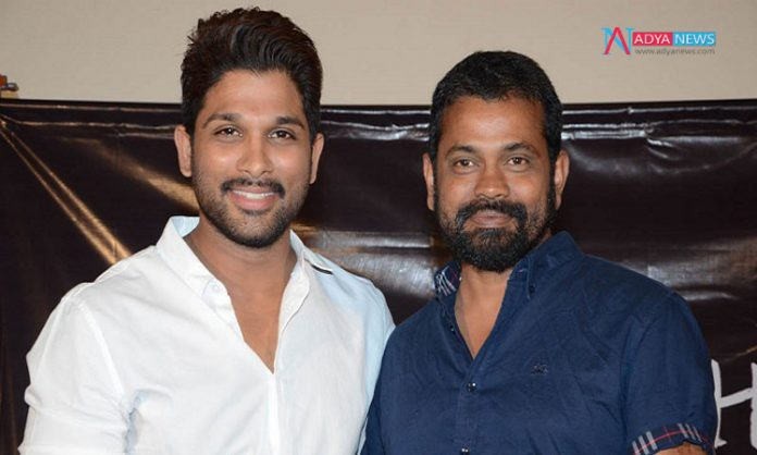 Allu Arjun Disappointed With The Sukumar's Story Narration