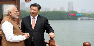 Second day of friendship between India's Prime Minister Narendra Modi and China's President Xi Jingping