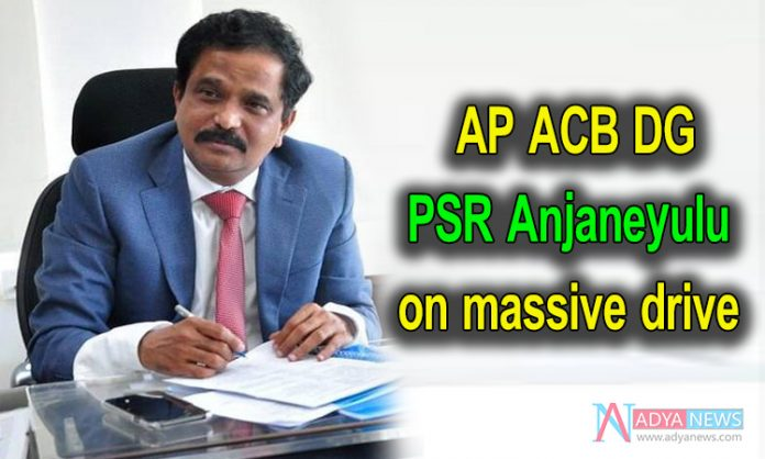 PSR Anjaneyulu on massive drive