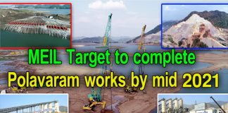 MEIL Target to complete Polavaram works by mid 2021