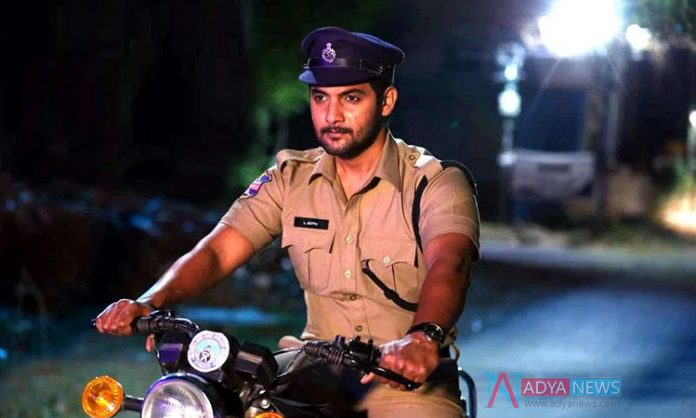 Dynamic hero Aadi Saikumar's next movie titled 'Black'