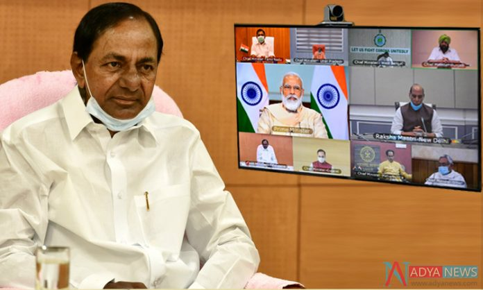 CM KCR urges PM Modi to focus more on medical facilities