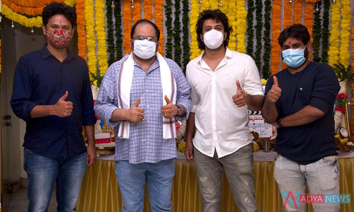 Satyadev's 'Thimmarusu' launched in Hyderabad!