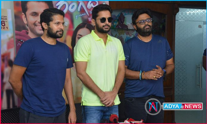 Happy with hat-trick hits with Sithara Entertainments: Nithiin