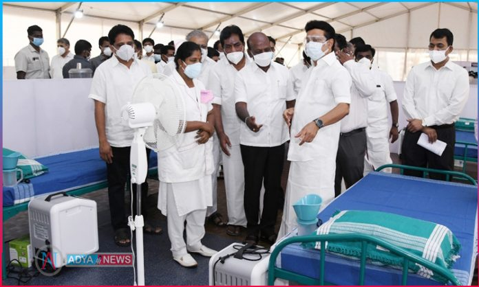 MEIL Establishes more than 3000 beds for the Covid affected in Tamilnadu