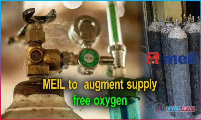 MEIL to augment supply of oxygen by 35 lakh litres per day in Covid hit Telugu States