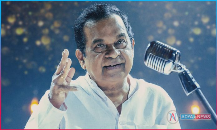 First Look of Brahmanandam unveiled